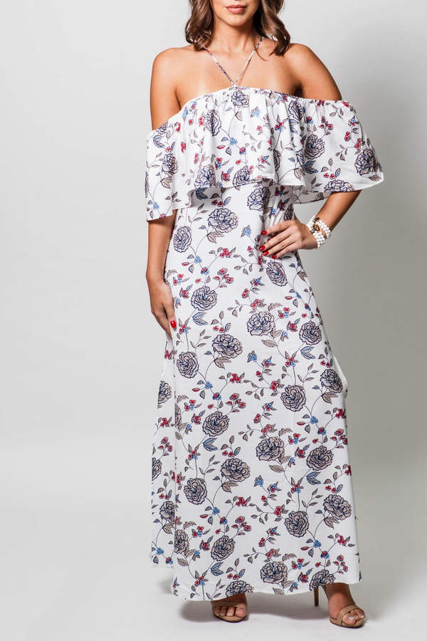 Lucca Couture High Neck Dress