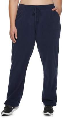 Tek Gear Plus Size Mid-Rise Microfleece Pants