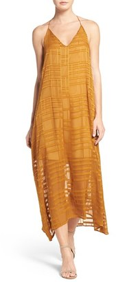 Women's Nsr Embroidered Maxi Dress $80 thestylecure.com