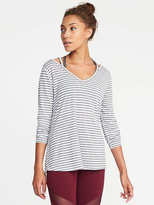 Old Navy Cross-Back Performance Top for Women