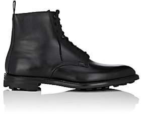 Crockett Jones Crockett & Jones Men's Derwent Leather Lace-Up Boots - Black