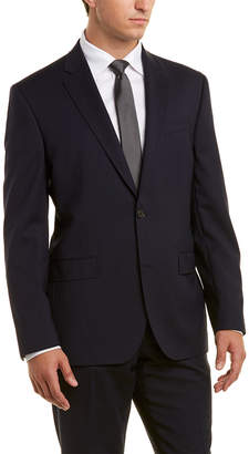 Ted Baker 2Pc Wool Herringbone Suit With Pleated Pant