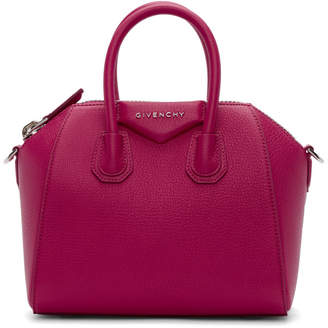 Givenchy Pink Mini Antigona Bag
