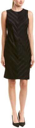 J.Mclaughlin Wool-Blend Sheath Dress