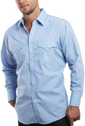 JCPenney Ely Cattleman Long-Sleeve Button-front Snap Shirt