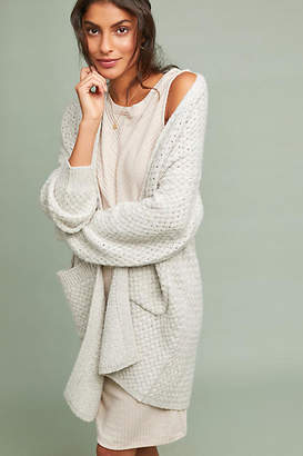 Moth Ls Line Textured Cardigan