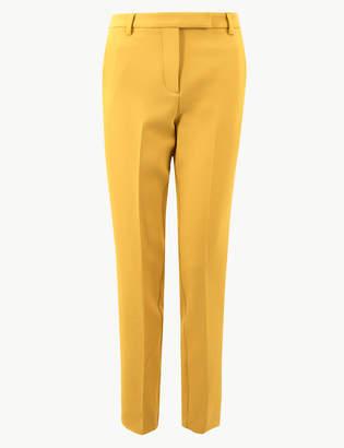 Marks and Spencer Side Stripe Slim Leg Ankle Grazer Trousers