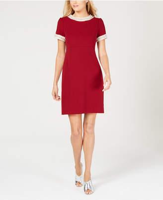 Betsey Johnson Embellished Sheath Dress