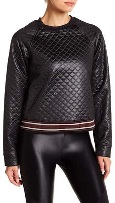 Koral Lift Quilted Sweatshirt