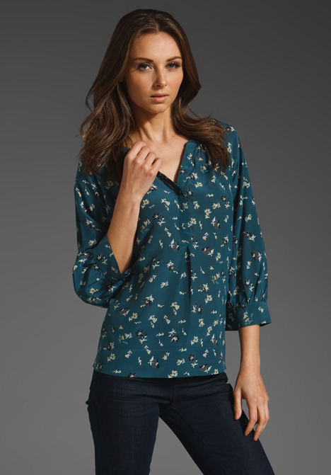 Joie Izzy Small Floral Blouse