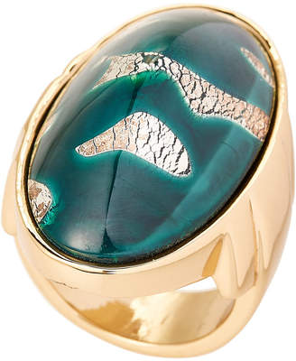 Lulu Frost Gold-Tone Anita Ring Size 6.75