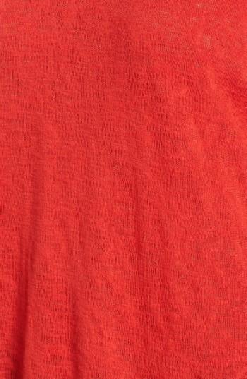 Women's Bobeau Cold Shoulder Slub Knit Tee 3