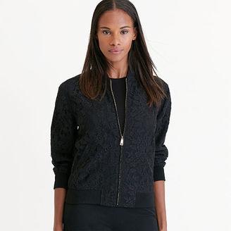 Ralph Lauren Lace Bomber Jacket $225 thestylecure.com