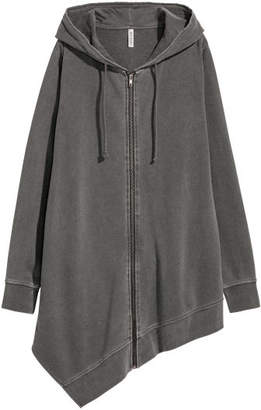 H&M Long hooded jacket - Gray