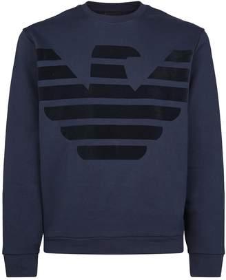 Emporio Armani Eagle Logo Sweater