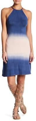 Couture Go Back Tie Halter Dress