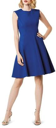 Karen Millen Sculptured Fit-and-Flare Dress - 100% Exclusive