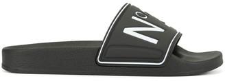 No.21 logo open-toe slides