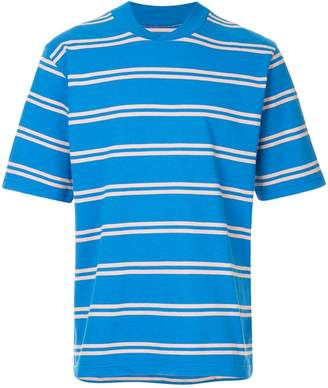 Sacai casual striped T-shirt