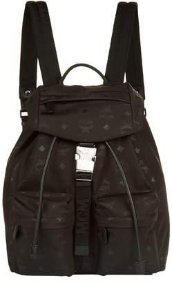 MCM Small Dieter Monogrammed Backpack