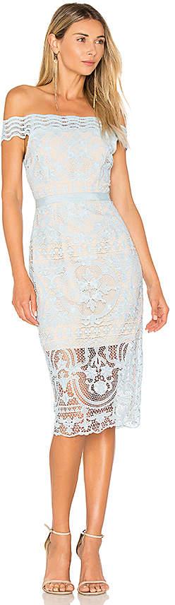 Aijek Padua Off Shoulder Dress