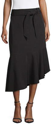 WORTHINGTON Worthington Tie Waist Midi Skirt - Tall