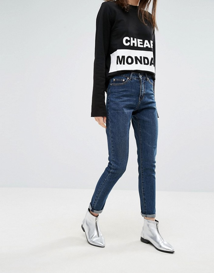 Cheap MondayCheap Monday Donna High Wasted Mom Jeans