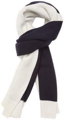 "Proenza Schouler Women's Knit Bicolor Wool Long Scarf, 88"" x 20"""