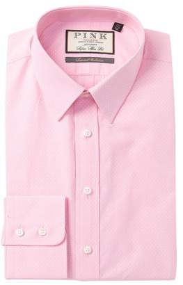 Thomas Pink Errol Textured Super Slim Fit Dress Shirt