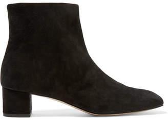 Mansur Gavriel Suede Ankle Boots - Black