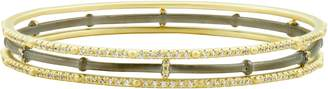 Freida Rothman Imperial 3-Pack Pave Stackable Bangles
