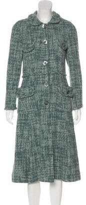 Marc Jacobs Button-Up Long Coat