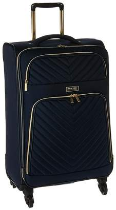 Kenneth Cole Reaction Chelsea - 24 Quilted Expandable 4-Wheel Upright Pullman Luggage