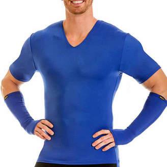 INSTA SLIM Insta Slim Men's Compression V-Neck Shirt