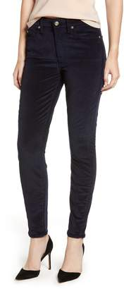 7 For All Mankind Corduroy Ankle Skinny Pants