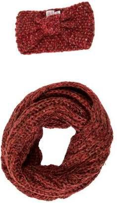 Eugenia Kim Genie by Rib Knit Scarf & Headband Set