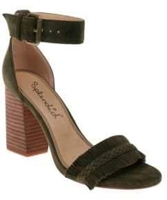 Splendid Jakey Fringed Suede Sandals