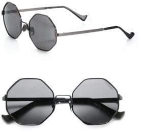 Cutler and Gross 51MM Octagon Sunglasses
