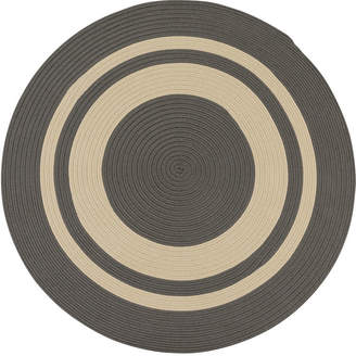 Colonial Mills Oceanside Braided Round Reversible Indoor/Outdoor Accent Rug