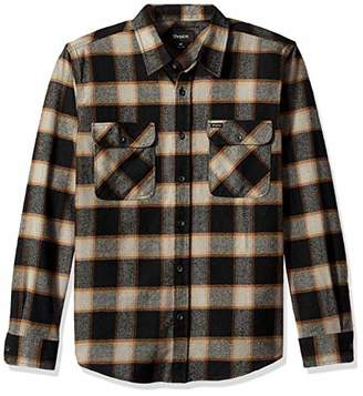Brixton Men's Bowery Long Sleeve Standard Fit Flannel