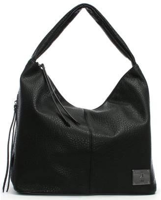 Fly London Zana Black Slouchy Hobo Bag