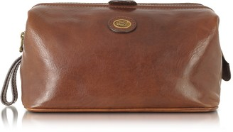 The Bridge Story Viaggio Marrone Leather Beauty Case