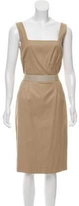 Dolce & Gabbana Belted Woven Dress