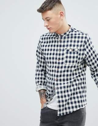 Brave Soul Long Sleeve Brushed Check Shirt