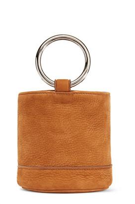 Simon Miller - Bonsai 15 Nubuck Bucket Bag - Tan $390 thestylecure.com