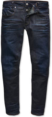 G Star Men Slim-Fit Stretch Dark Aged Jeans
