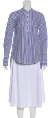 Veronica Beard Striped Long Sleeve Tunic