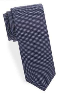 Eton Checkered Silk Tie