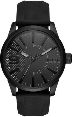 Diesel Men's DZ1807 Rasp IP Silicone Watch
