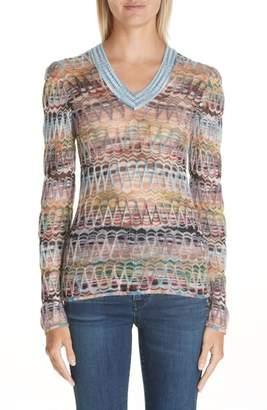 Missoni Open Knit Sweater